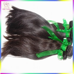 No Silicon Coating RAW Virgin Armenian Natural Straight Virgin Hair 4 bundles KissLocks Weave Collection Boutique 10A
