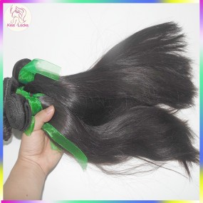 "Legit ""Locks Kiss"" Vendor Grade 10A Natural Unprocessed Armenian Straight Human Hair 300g/lot No Acid process"