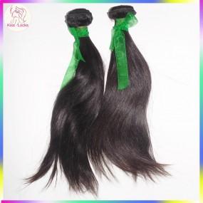 Aliexpress UK,USA Virgin RAW Straight Armenian Human Hair Extension 2pcs/lot Bloom Style Pussy Girl Locks Grade 10A