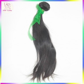 Grade 10A Sample Hair 100% Virgin Raw Sleek Straight Armenian Bouncy Straight Hair Natural Color 100g Fast shipping Accept Paypal