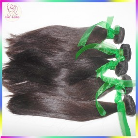 4pcs/lot Thick Unprocessed Virgin Armenian Straight Hair More Fuller Looking No Steam Process Lustrous Raw Hair Weave KSLocks