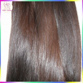 New Exotic Weave Raw Virgin Bohemian Natural Straight Human Hair Extension single bundle deal 100g Nice ends