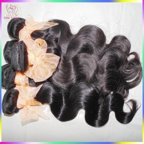 4pcs/lot Original 10A Brazilian Virgin Human Hair body wave (wet and wavy) bundles deal FLAWLESS NATURAL Curls