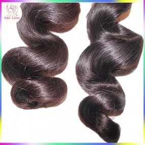 "Sample Single bundle (3.5oz) 10A Top Unprocessed Natural Loose Wave Brazilian Virgin Human Hair Weave 12""-28"" Fast Delivery"