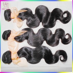 Unprocessed virgin weave bundles No Tangle Thick Brazilian Body wavy hair 3pcs/lot 10A Top Quality Season promotion