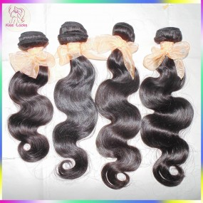 10a Brazilian Virgin body wave Weave 4 bundle deals 100% Pure human hair unprocessed HOT Selling