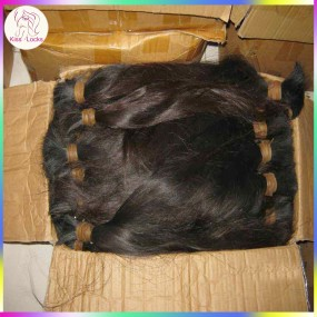 400g/lot bulk braid raw virgin human hair Unwefted bulk Malaysian Natural Straight Texture Hair Distributor