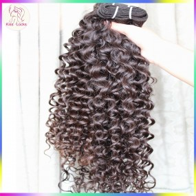 Sexy Lady Anti Bouncy Curly 10a Raw virgin Burmese Temple Hair No Tangle No Shedding Human Hairs Wefts 3pcs/lot