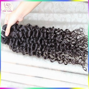 Latest New Hair Type Best Quality 10A Burmese Curly Weave Raw Virgin Unprocessed Natural curls 1 piece deal