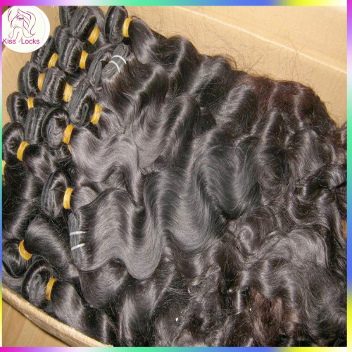 """Hot seller 10A KissLocks Virgin Cambodian more wavy hair best Mixed (18"""",20"""",22"""") 3pcs/lot ,can be bleached Flawless"""