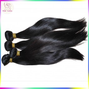 Glory of Beauty Best Weave 10A Cambodian Virgin Hair Bouncy Straight 4pcs/lot Double Stitched Wefts