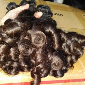 Rare New Funmi Aunty curls Magic curly Cambodian human hair virgin Unprocessed 3pcs=300g Full bundles 10A