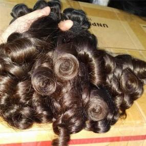 Rare New Funmi Aunty curls Magic curly Cambodian human hair virgin Unprocessed 3pcs=300g Full bundles 10A