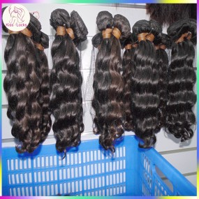 Grade 10A Wavy Curly Hair Weave RAW(No Acid Boiling) Cambodian Virgin Human Hair 3 bundles for Friday Night Girl Express shipping