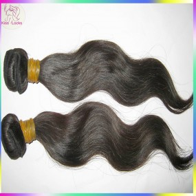 "Kiss Raw Hair Company 12""-30"" Cambodian Virgin Dark Brown Hair Body Wave Wefts 2pcs/lot Grade 10A Rapid shipping"