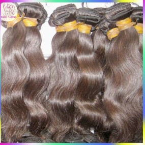"Hot seller 10A KissLocks Virgin Cambodian more wavy hair best Mixed (18"",20"",22"") 3pcs/lot ,can be bleached Flawless"