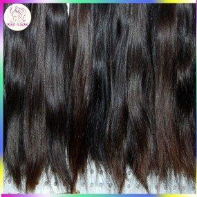 Gaga Deals 10A Unprocessed Eurasian natural straight hair 1 piece/lot Sample Hair 100gram 1 bundle Weave Weft