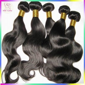 "New arrival! 10A Filipino Virgin human hair weave wefts(body wave) 3pcs/lot(12""-30"") No Tangle Flawless bundles Top Selling"