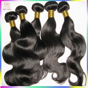 "Unprocessed Raw Filipino Virgin body Wavy hair Weaves 3 bundles/lot(10""-30"") Neat wefts Flow Texture 10A"