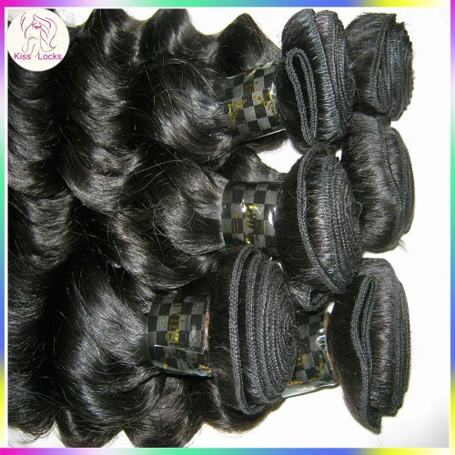 Special Deal 2 bundles 100% Filipino Loose Curly Deep Wavy Virgin Hair Extension Wefts Shine luster Express Ship