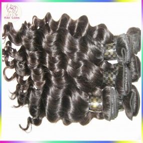 10A NEW Sale Filipino Natural Loose Deep wave Virgin hair Extensions,4pcs/lot Big Curly Twisted Try this one!