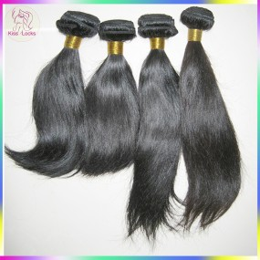 BLACK FRIDA 100% Virgin Filipino(Philippines RAW) Straight Hair Thick Weft (3pcs 3 bundles 300g) 10A KissLocks Weave