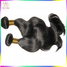 2 pcs/lot Weave bundles 10A Virgin Philippines body wave human hair extensions weft fuller ends,fast shipping