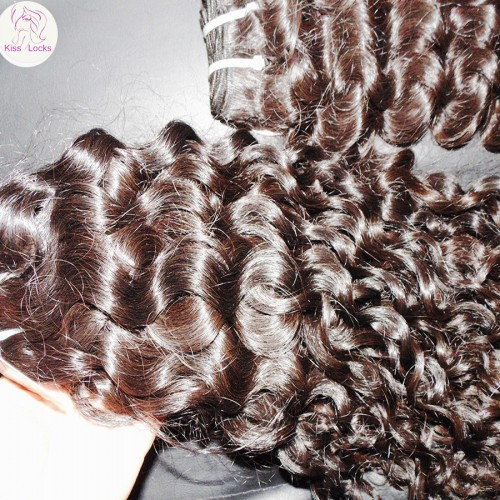 New Arrive The Highest quality Philippine mink curly human hair 100g single bundle deal heavey density Weave supplier