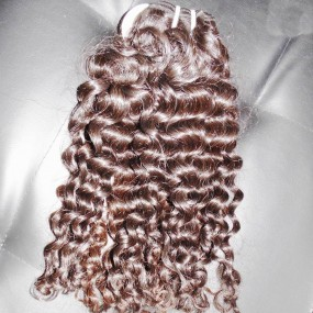 Kiss Locks The Highest quality Philippine mink curly human hair 100g single bundle deal heavey density Weave supplier