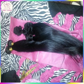 "The beautiful 10A unprocessed Filipino raw straight human hair 2pcs/lot 12""-28"" long weaves healthy bundles Medium luster"