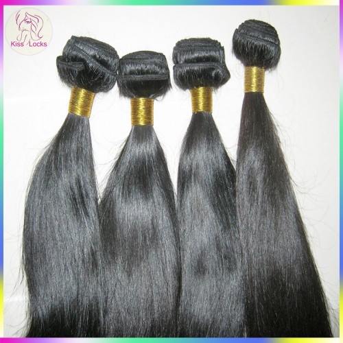 1 bundle deal Superior Quality Filipino Straight Hair Human Raw Hair Weaving Natural Brownish Luster Free Shipping