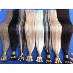 """Single donor Handtied wefts double drawn extensions 18""""-24"""" inches available shipout within 7days different colors available"""