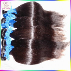 KissLocks RAW Hair Products Indian Virgin Hair Silky Straight Weave 3pcs/lot Hold curls Well 10A Unprocessed hair