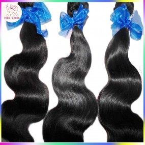 100g 10A cheap Unprocessed Raw Indian Virgin human hair body wave texture Special Weave,No tangle fast shipping