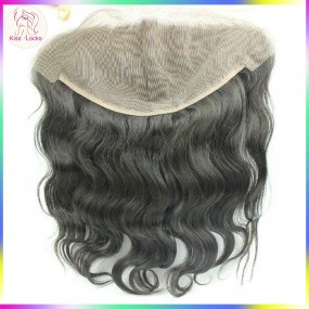 13x6 Large Size Lace frontal Virgin Raw Body Wave Hair Grade 10A Brazilian,Malaysian,Indian,Peruvian Hair Types(ship within 2 days)
