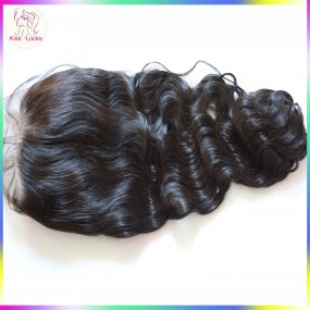 Celebrity Queen Style 360 Degree Lace Frontal Natural Hair Line free part Cambodian Hair Full lace Frontal Closures 10A