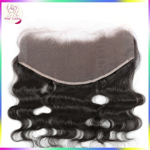 Hot Selling Popular Full Lace Frontal Big Frontal 13x6 Virgin Body Wave Unprocessed Hair 1 piece Korean,Philippino,European(ship within 2 days)