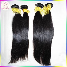 Today's Super Deal RAW Asian 100% Virgin Laotian Human Hair Straight Texture 4pcs/lot fast shipping Affordable price
