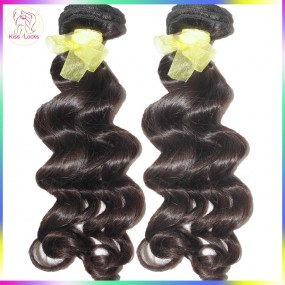 Art of Beauty 10A Flawless Boutique Virgin Laotian Human Hair Loose Curly Deep Wavy 2 bundles deal FAST Delivery