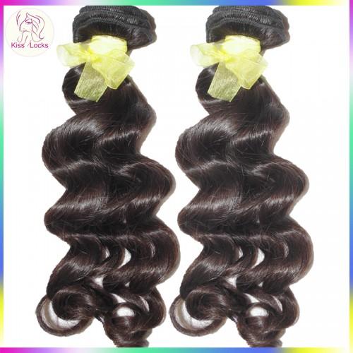 100% Real Human Hair 10A BEST Laotian Deep Loose Curly Virgin Hair Weaves 3 bundles Deal Clean Wefts Alibaba Market