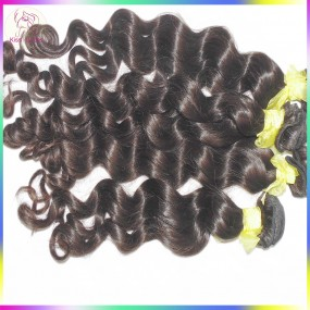 Laotian Deep Wave Loose Curly Hair 4pcs/lot Virgin Unprocessed Grade 10A Can be bleached Kiss Locks RAW weave Collection