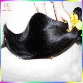 3 bundles Full Sew in 100% Star Style Virgin Human Hair Extension BEST Laotian Straight 300g Abundant hairs
