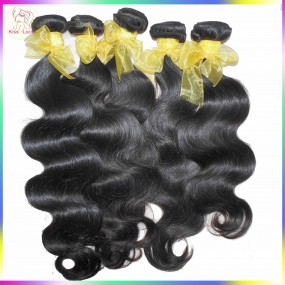 BLACK FRIDA Natural Raw Asian Laos Virgin Body Wave Hair Weave 400g/lot Thick Strands Can be bleached,Dark Lusters