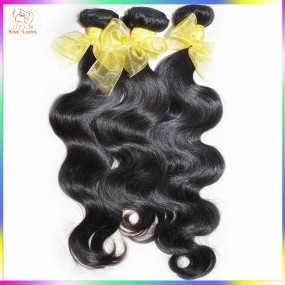 10A Unprocessed Virgin Body Wave Weave 3 bundles Deal Laotian Virgin Human Hair Collection 100% Asian Origin 300g Thick Extension
