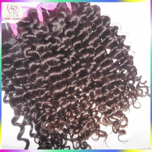 Oceanic Flower Curls 10A Unprocessed Italian Jerry Curly Malaysian Virgin Human Hairs 3pcs/lot Machine Wefts No Corn Chip Smell