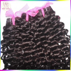 European Romance Curls Fabulous 10A Bouncy Italy Curly Virgin Unprocessed Malaysian Human Hair 2pcs/lot