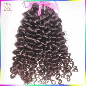 NY City Romance Curls Fabulous Bouncy Italy Curly Virgin Unprocessed 10a Malaysian Human Hair 1 piece 100g Single Bundle Deal