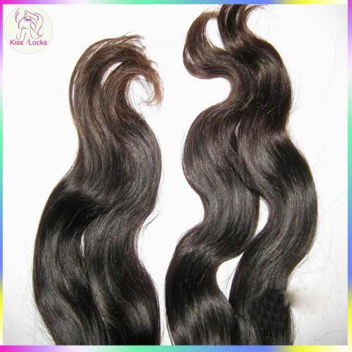 Samples Buying Extra more hairs 2pcs=200g Thick Virgin Undyed Bouncy Body Wavy Malaysian Natural Hair Extension