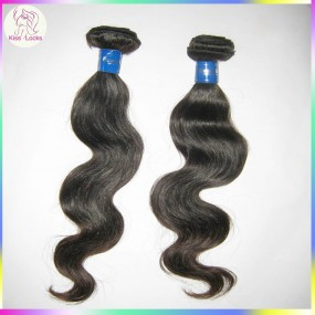 1 bundles 3.5oz Sample Quality Test  Asian Top 10A Body Wave Malaysian RAW unprocessed Virgin Human hairs