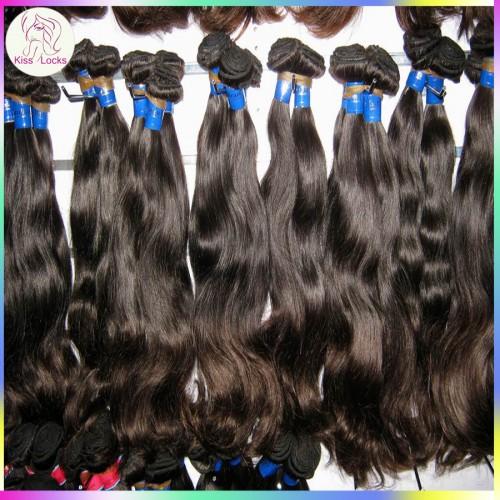 New Arrival Malaysian Virgin Hair Natural body wavy Wefts 3pcs/lot Free Tangle Natural Medium Luster